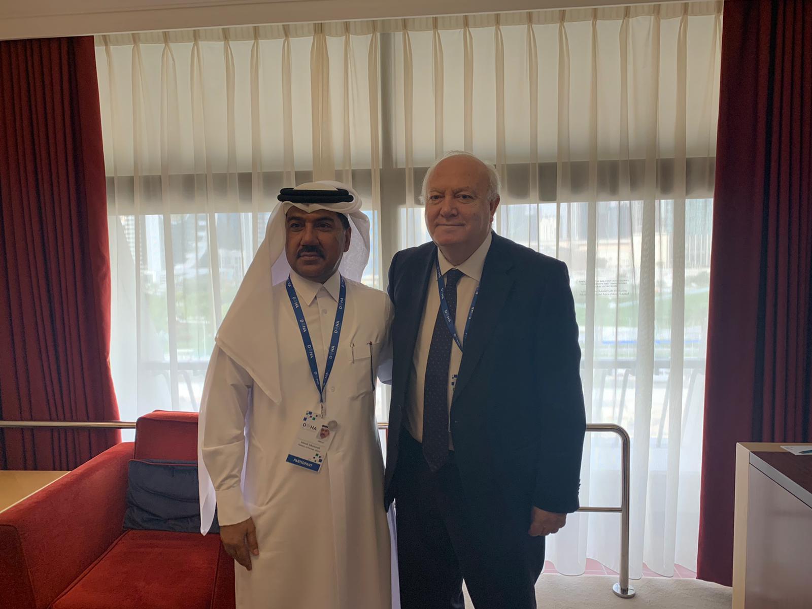 الأمين العام لوزارة الخارجية يجتمع مع مسؤول أممي