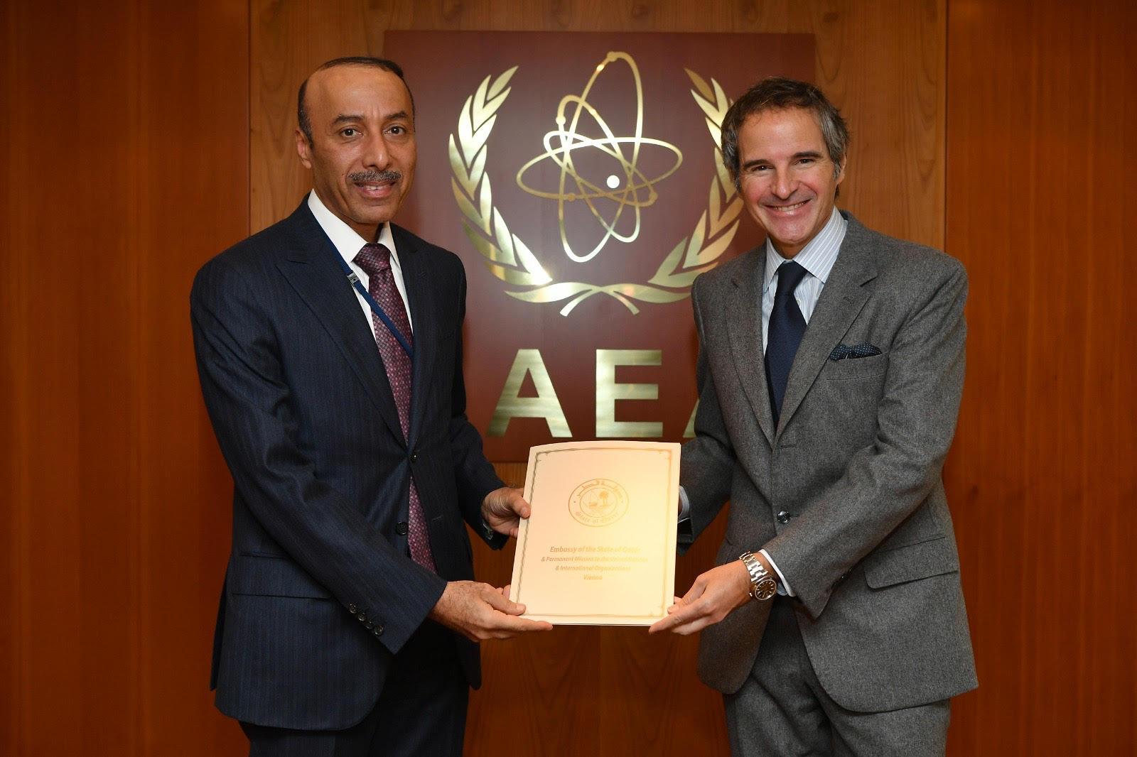 قطر تنضم لاتفاقية الأمان النووي لدى الوكالة الدولية للطاقة الذرية