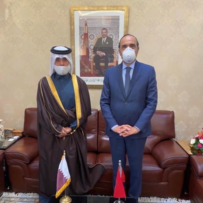 رئيس مجلس النواب المغربي يُشيد بإعلان سمو الأمير عن إجراء انتخابات مجلس الشورى