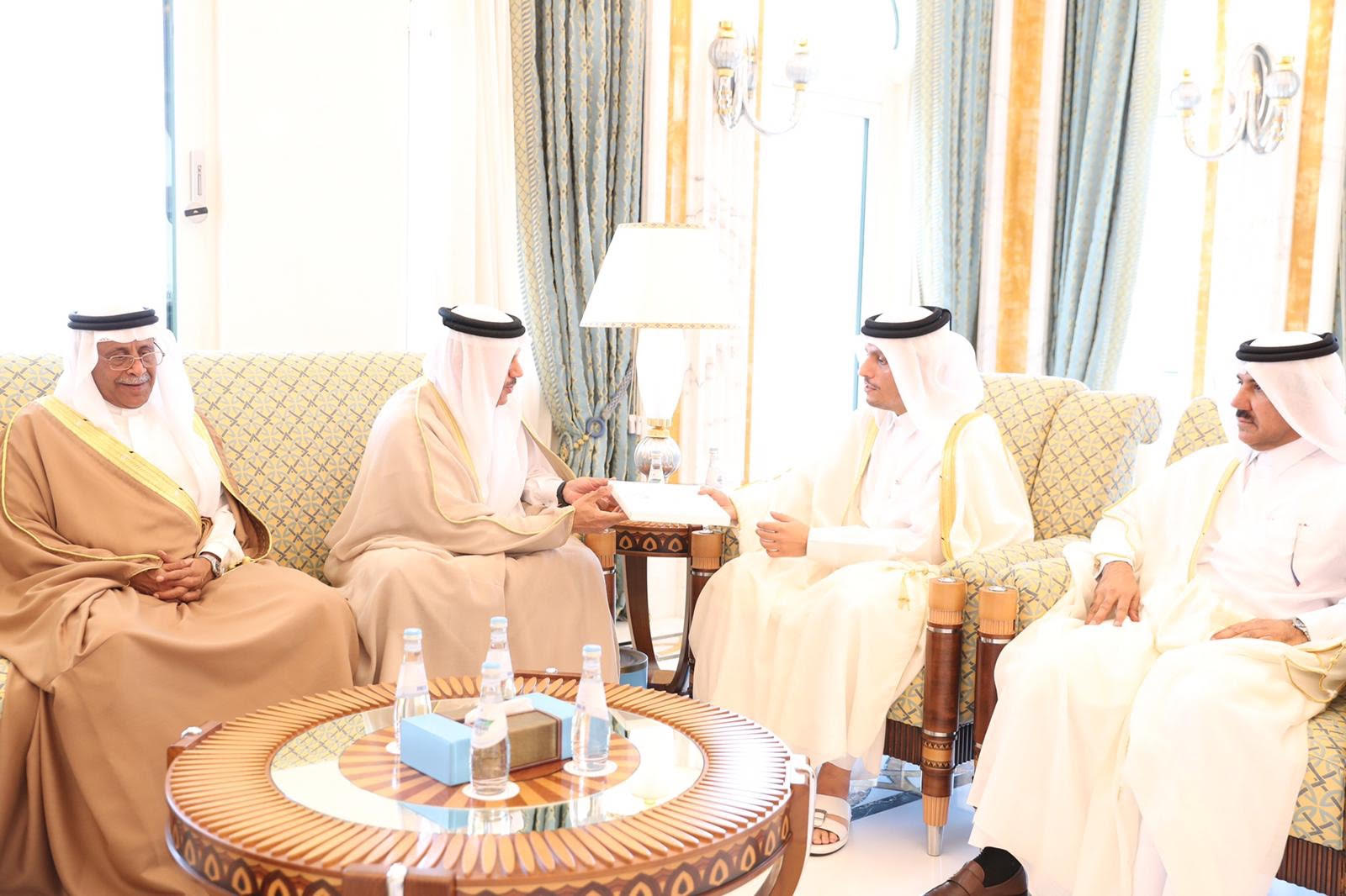 HH The Amir Receives Invitation to Attend GCC Summit