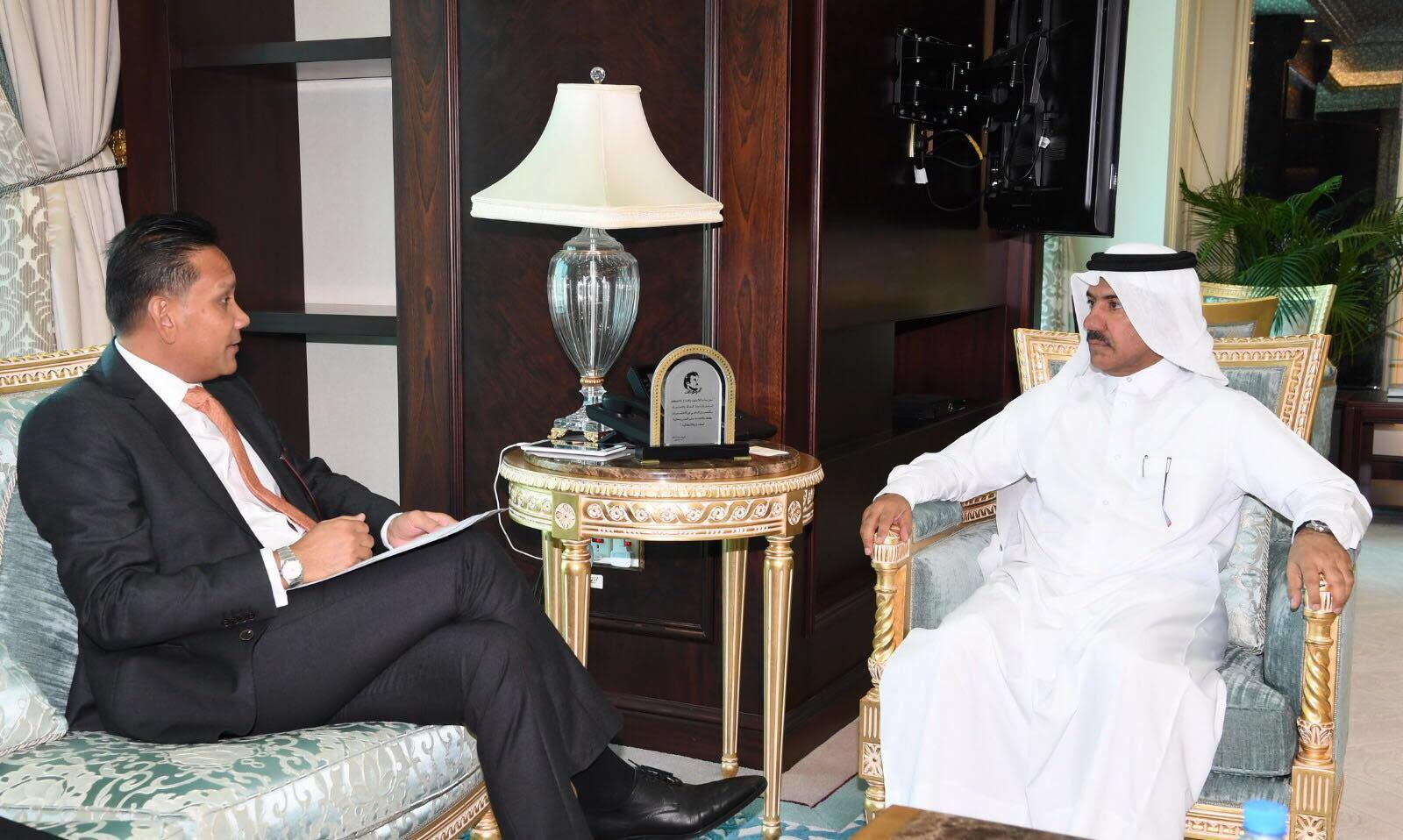 وزير الخارجية يتلقى دعوة للمشاركة في الاجتماع العاشر لحوار التعاون الآسيوي