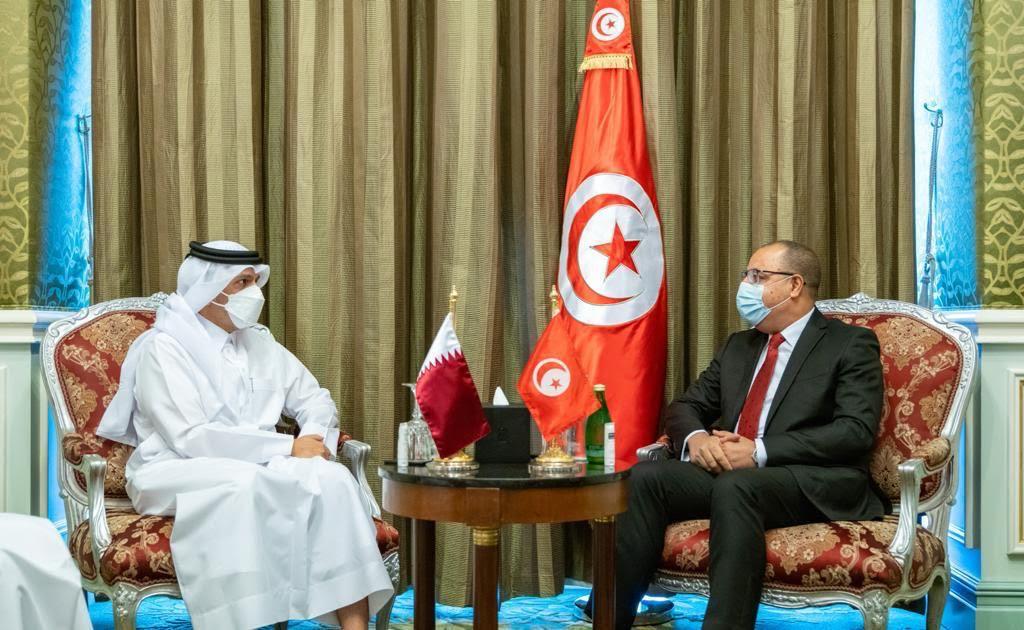 رئيس الحكومة التونسية يستقبل نائب رئيس مجلس الوزراء وزير الخارجية