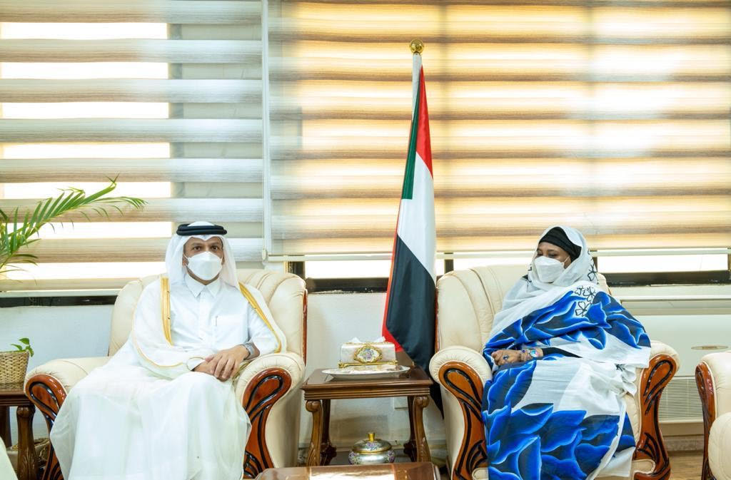 Deputy Prime Minister and Minister of Foreign Affairs Meets Sudanese Minister of Foreign Affairs