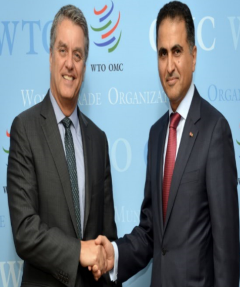 Deputy Prime Minister and Minister of Foreign Affairs Sends Written Message to WTO Director-General