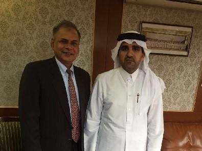 سفير دولة قطر في النيبال يجتمع مع مسؤول آسيوي