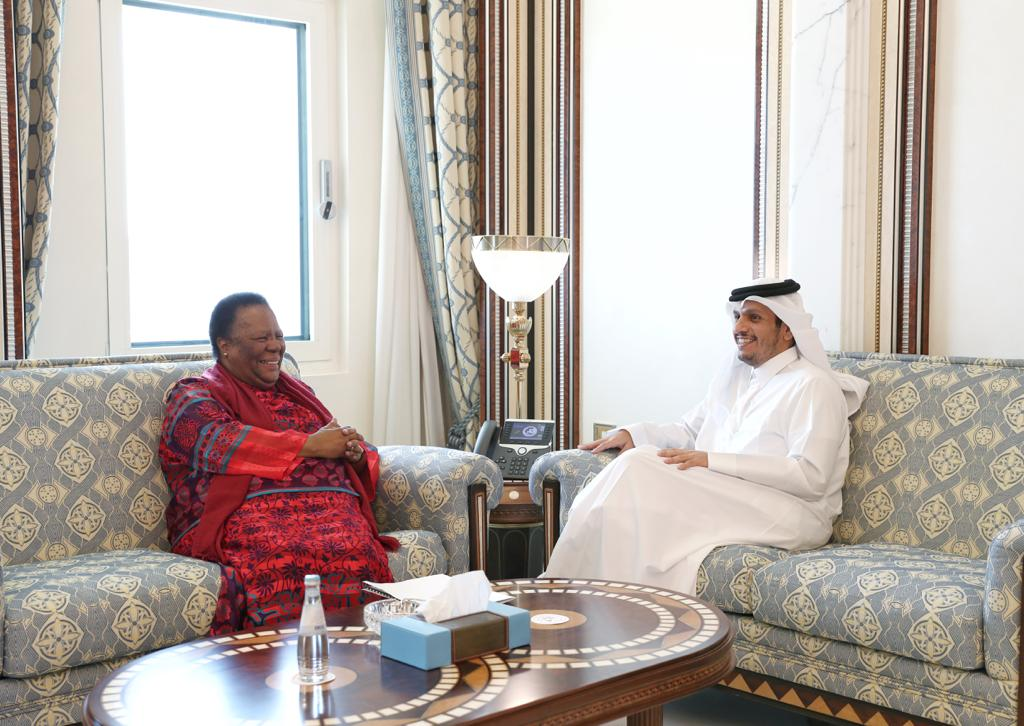 Deputy Prime Minister and Minister of Foreign Affairs Meets South African Minister of International Relations and Cooperation