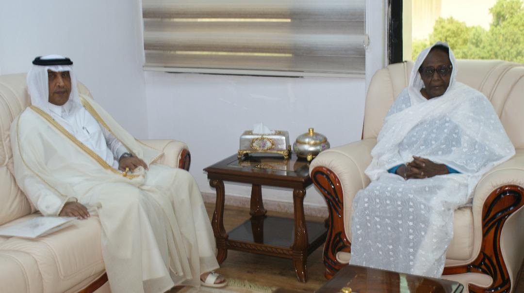رسالة من نائب رئيس مجلس الوزراء وزير الخارجية إلى وزيرة خارجية السودان