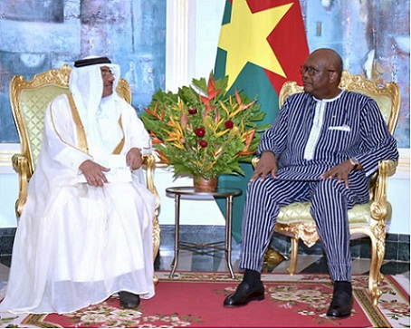 HH the Amir Sends Two Messages to President of Burkina Faso