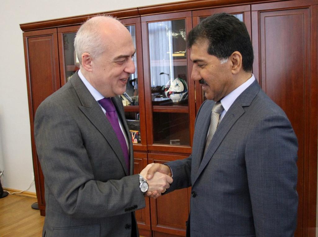 الأمين العام لوزارة الخارجية يجتمع مع وزير خارجية جورجيا