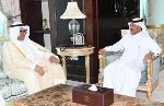 Foreign Ministry's Secretary-General Meets Chairman of Kuwait's National Bureau for Human Rights
