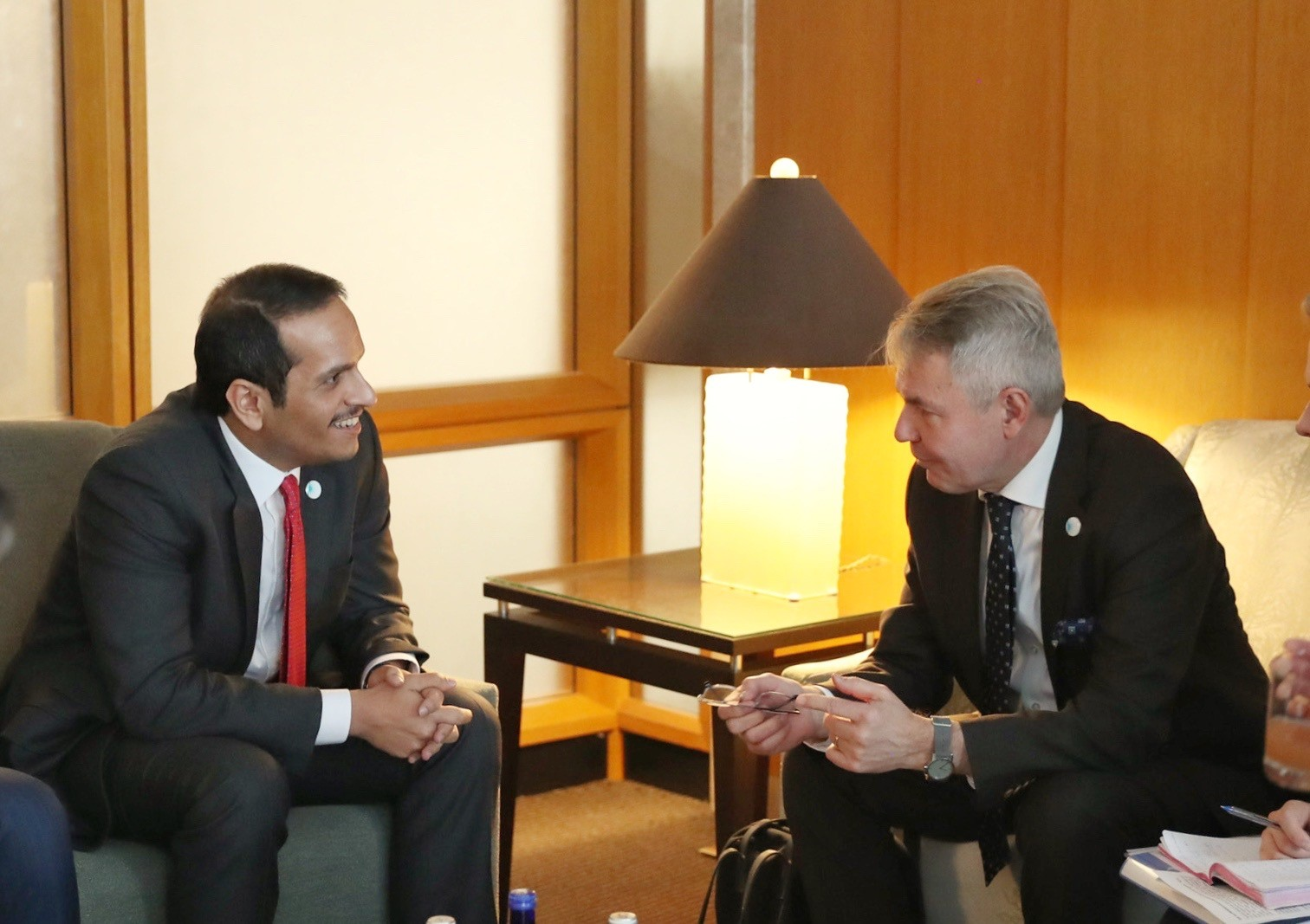 Deputy Prime Minister and Minister of Foreign Affairs Meets Finland's Foreign Minister