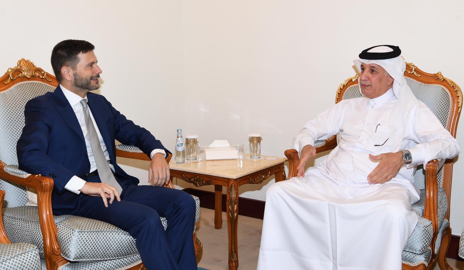 Deputy Prime Minister and Minister of Foreign Affairs Receives Written Message from Italian Foreign Minister