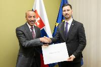State Secretary of Slovak Foreign Ministry Receives Copy of Credentials of Qatar's Ambassador