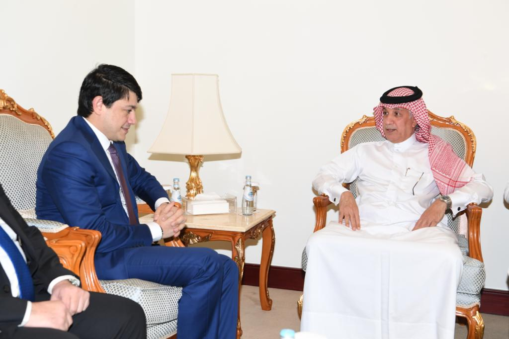 Minister of State for Foreign Affairs Meets Chairman of the State Committee on Affairs with Diaspora of the Republic of Azerbaijan