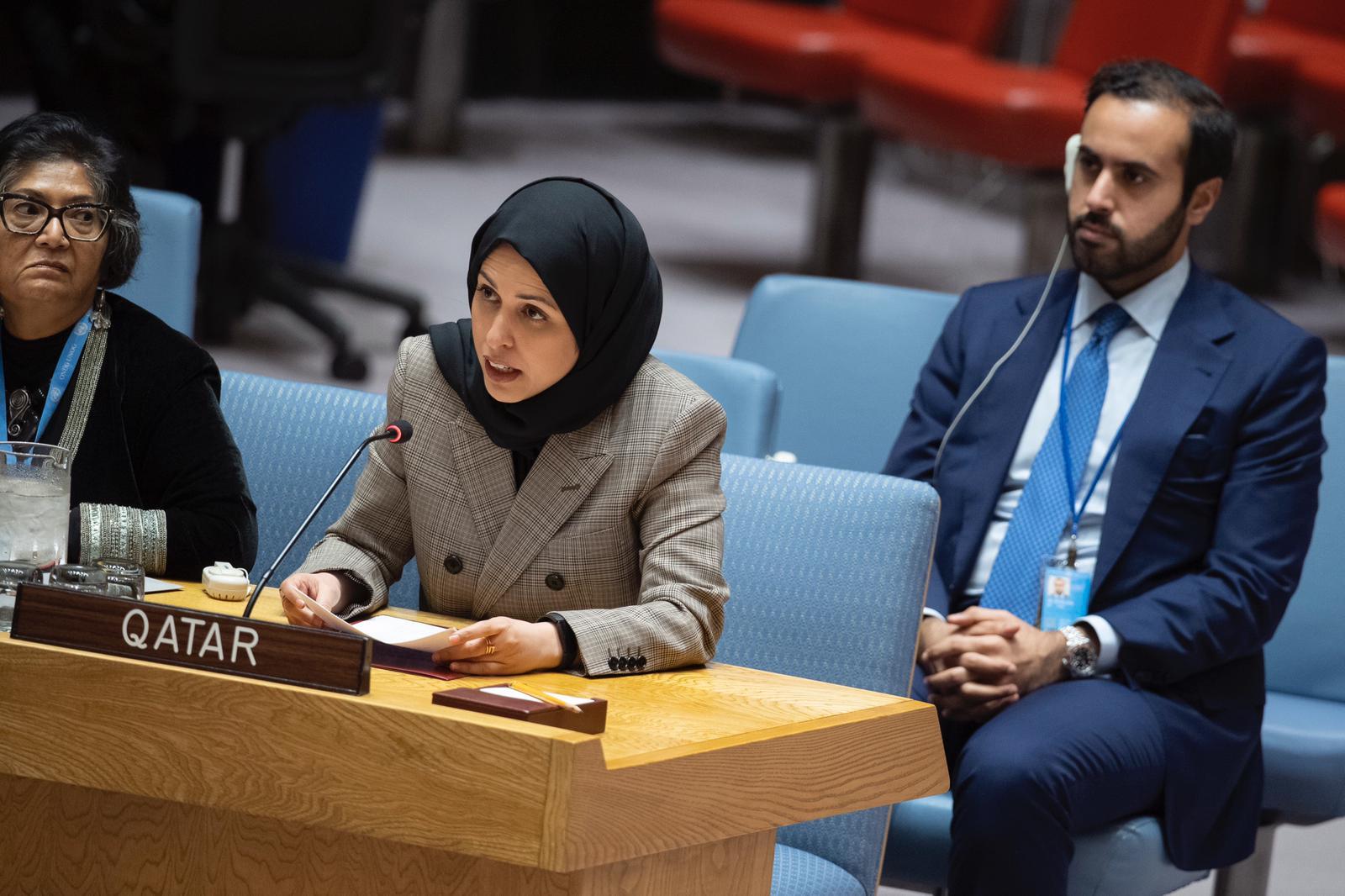 دولة قطر تؤكد مساهمتها الفاعلة لدعم الآليات القانونية الهادفة لتعزيز العدالة الانتقالية