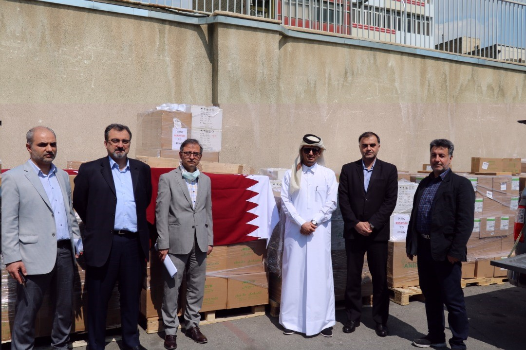 Qatar's Embassy Delivers Urgent Medical Aid to Iranian Ministry of Health and Medical Education
