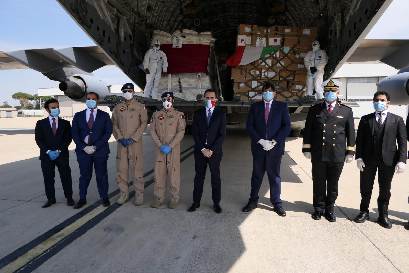Qatar's Ambassador in Rome: HH the Amir's Directives to Send Medical Aid to Italy Underline Strong Relations