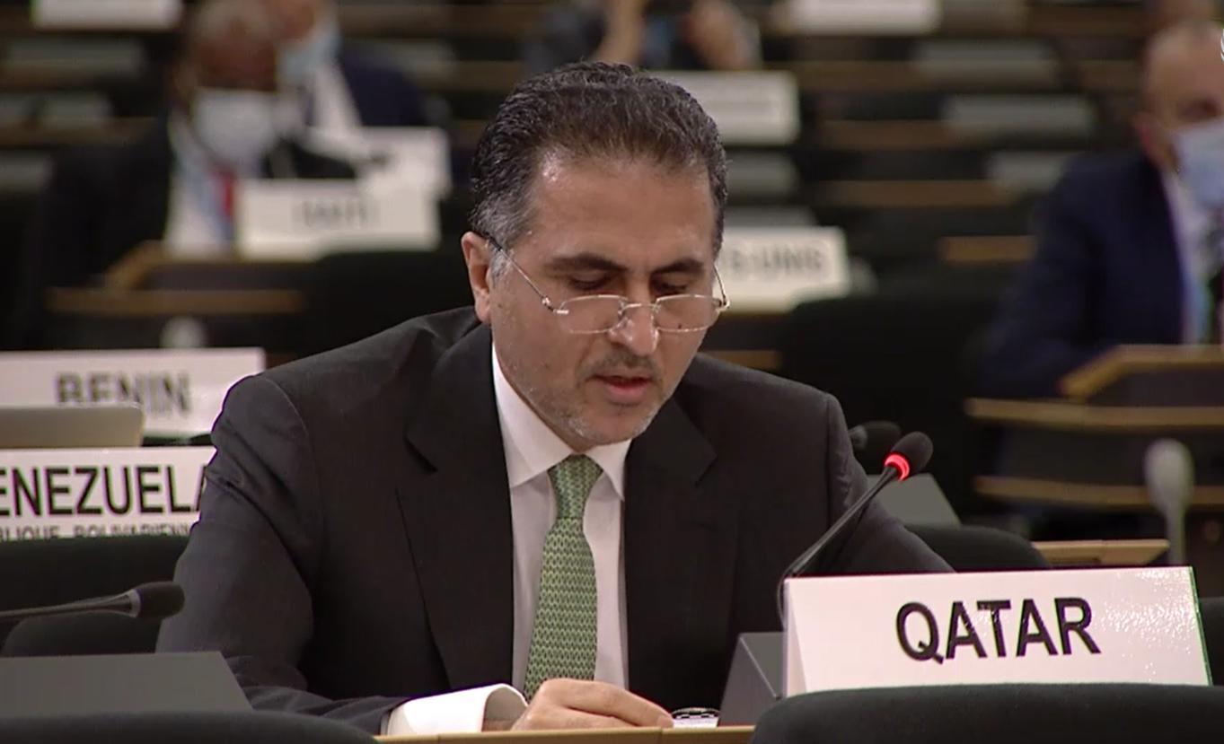 دولة قطر تؤكد أن استمرار الحصار الجائر دون وجود بوادر لحلول يشجع على ارتكاب المزيد من الانتهاكات