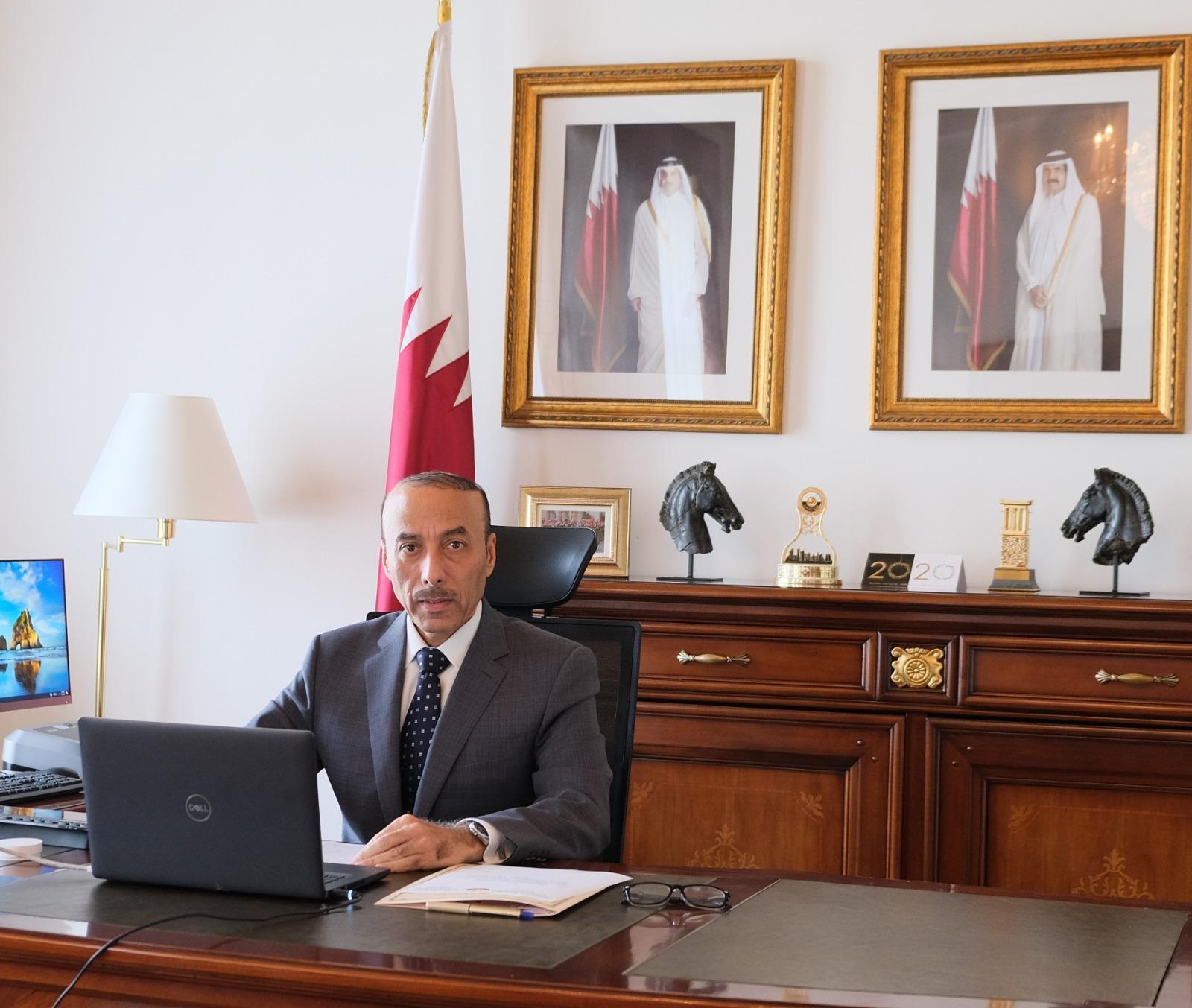 """دولة قطر تؤكد بأن البرنامج العالمي لتنفيذ """"إعلان الدوحة"""" ساهم بشكل شامل في تنفيذ أهداف خطة التنمية المستدامة"""