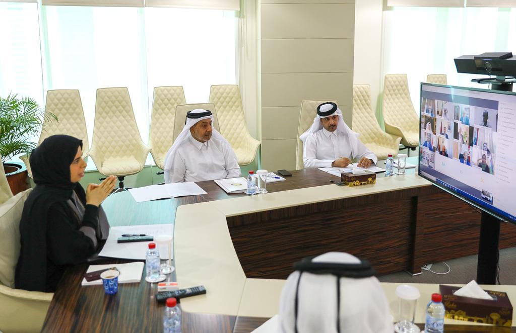 مساعد وزير الخارجية تجتمع مع سفراء الدول العربية والأفريقية