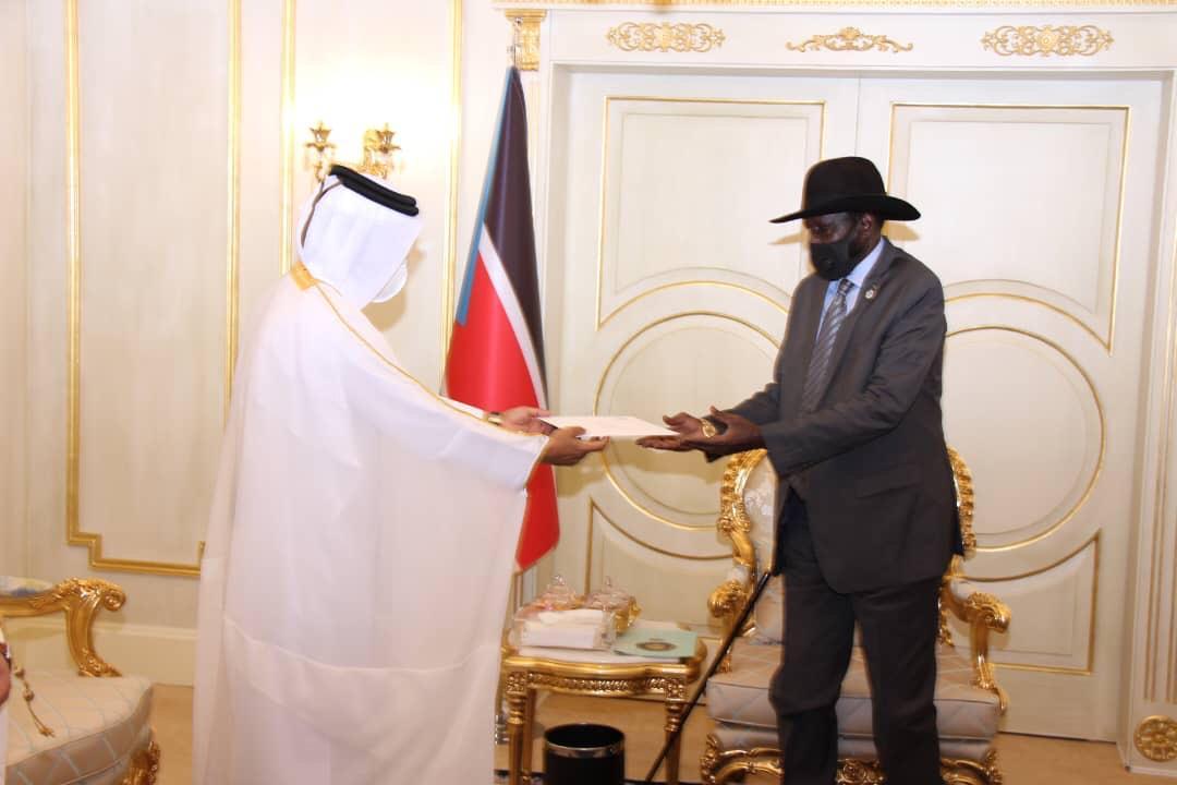 سمو الأمير يبعث برسالة خطية لرئيس جمهورية جنوب السودان
