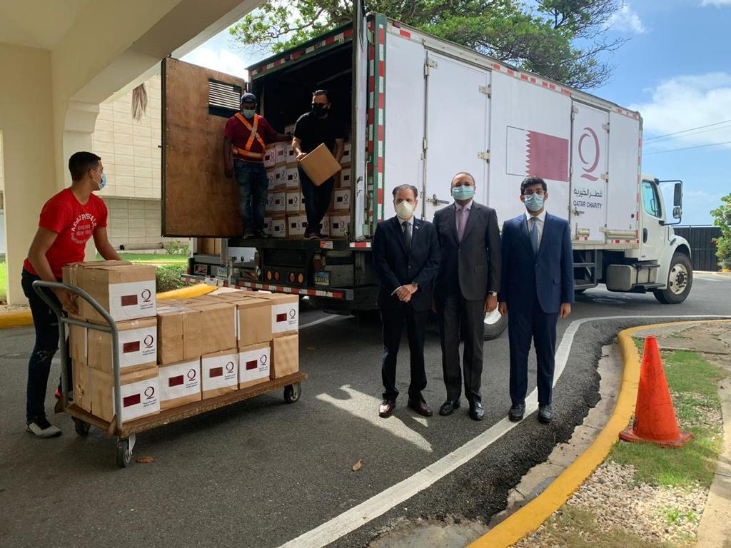 Qatar's Embassy Provides Medical Assistance to the Dominican Republic