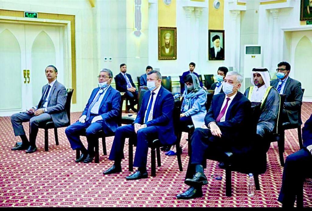 القائم بالأعمال القطري يحضر الجلسة الختامية لإجتماع مجلس شيوخ القبائل الأفغانية