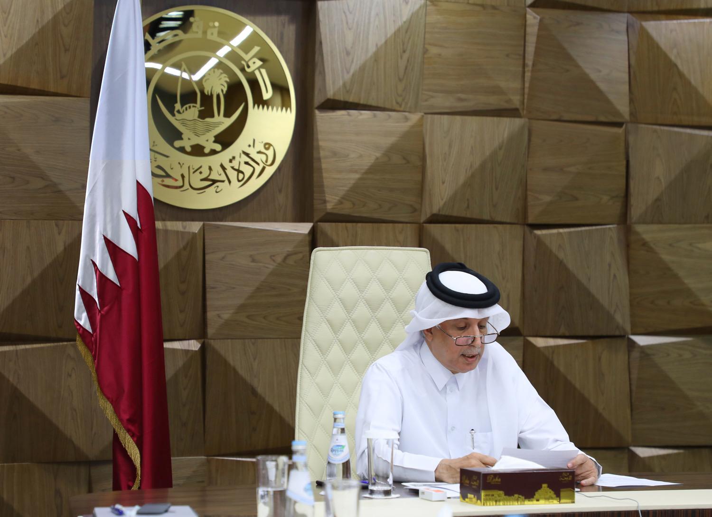 دولة قطر تشارك في اجتماع الإحاطة الافتراضية حول الوضع الإنساني في لبنان
