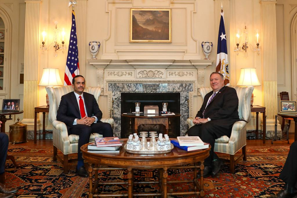 Deputy Prime Minister and Minister of Foreign Affairs Meets US State Secretary