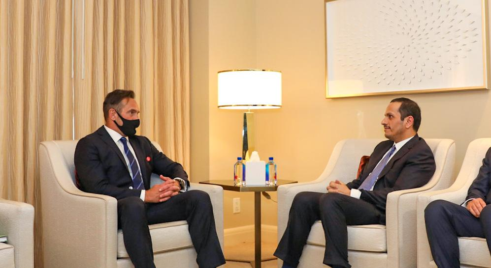 Deputy Prime Minister and Minister of Foreign Affairs Meets US Special Envoy for Hostage Affairs