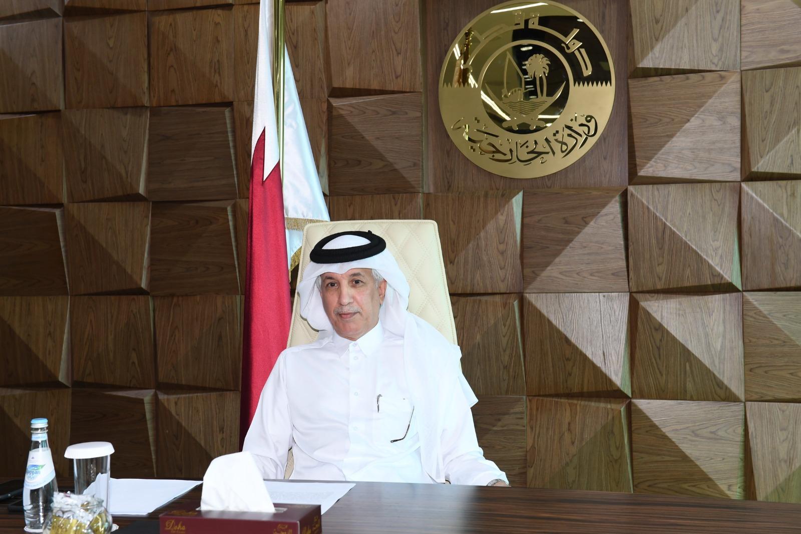 دولة قطر تشارك في الاجتماع السنوي لوزراء خارجية مجموعة البلدان النامية غير الساحلية