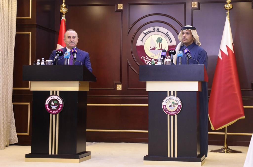 نائب رئيس مجلس الوزراء وزير الخارجية: علاقاتنا مع تركيا إستراتيجية