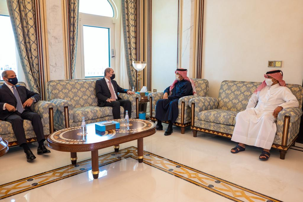 Deputy Prime Minister and Minister of Foreign Affairs Meets Jordanian Deputy Prime Minister and Minister of Foreign Affairs and Expatriates