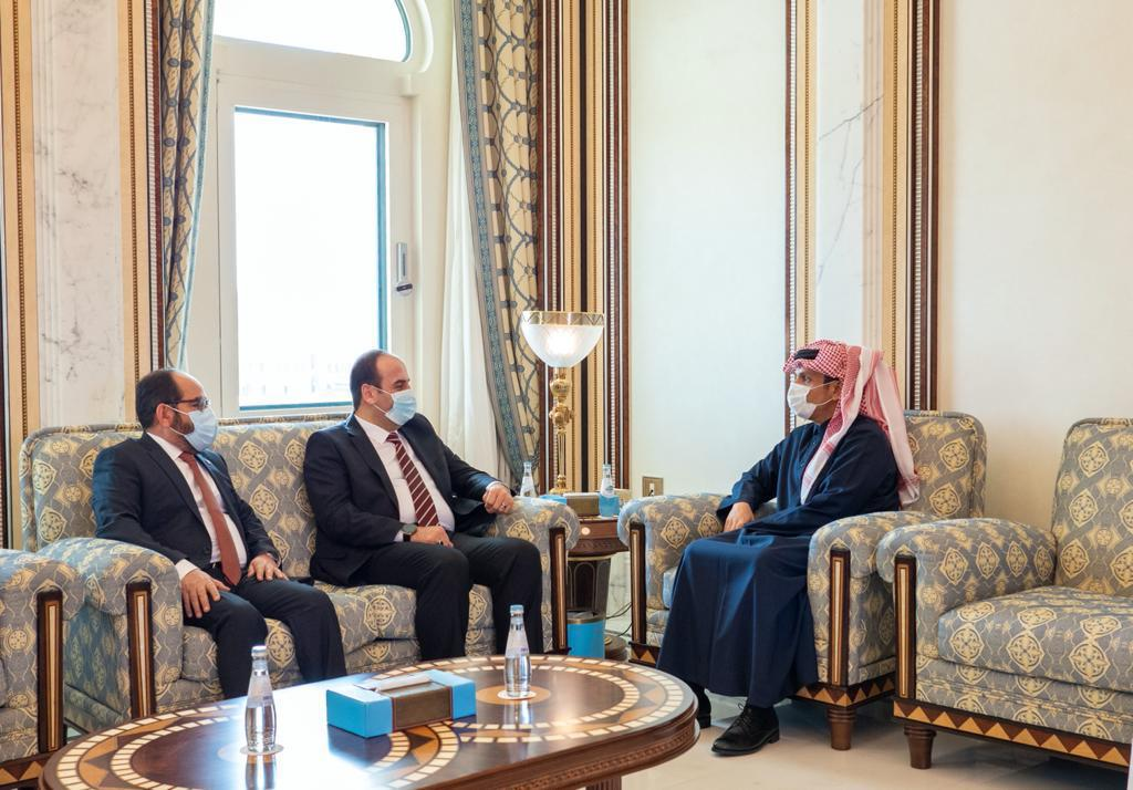 Deputy Prime Minister and Minister of Foreign Affairs Meets President of Syrian National Coalition