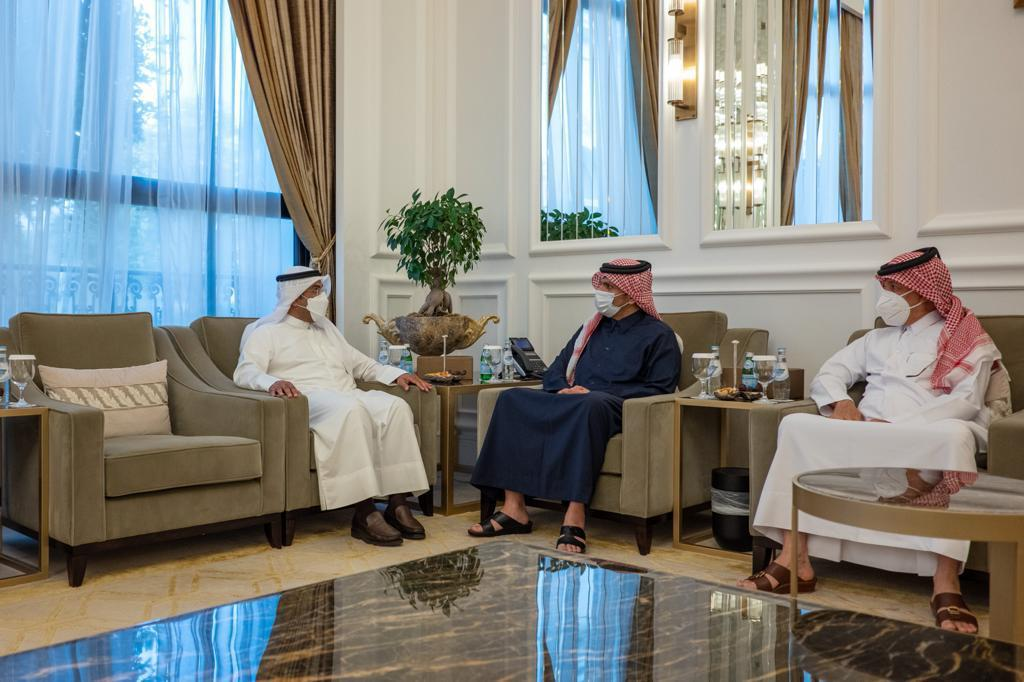 Deputy Prime Minister and Minister of Foreign Affairs Meets GCC Secretary-General
