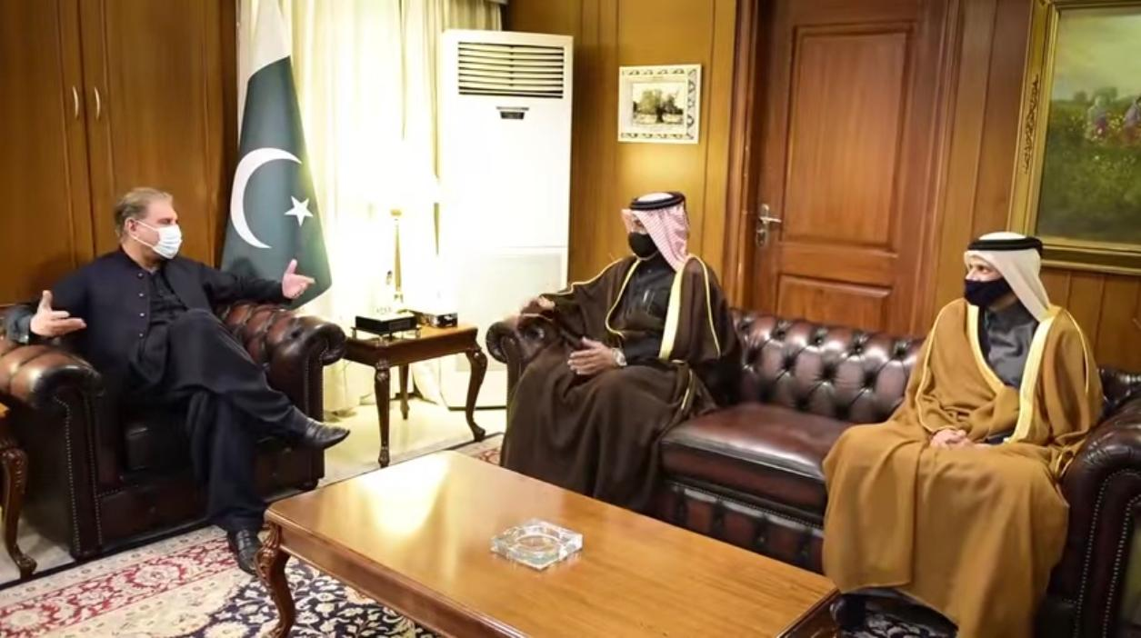 Foreign Minister, Interior Minister and Chief of Army Staff of Pakistan Meet Special Envoy of Minister of Foreign Affairs
