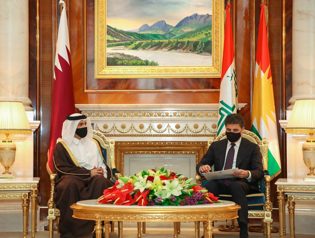 رئيس مجلس الوزراء ووزير الداخلية يبعث برسالة إلى رئيس إقليم كردستان العراق