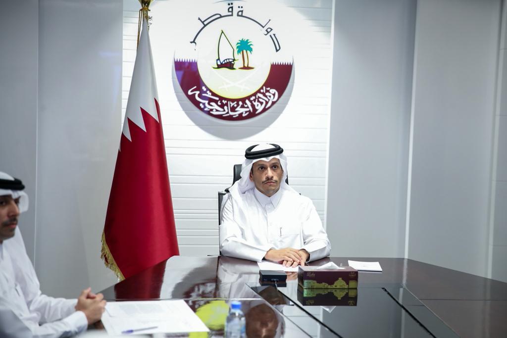 نائب رئيس مجلس الوزراء وزير الخارجية: قضية مواجهة الإرهاب تحظى لدى دولة قطر بأولوية قصوى