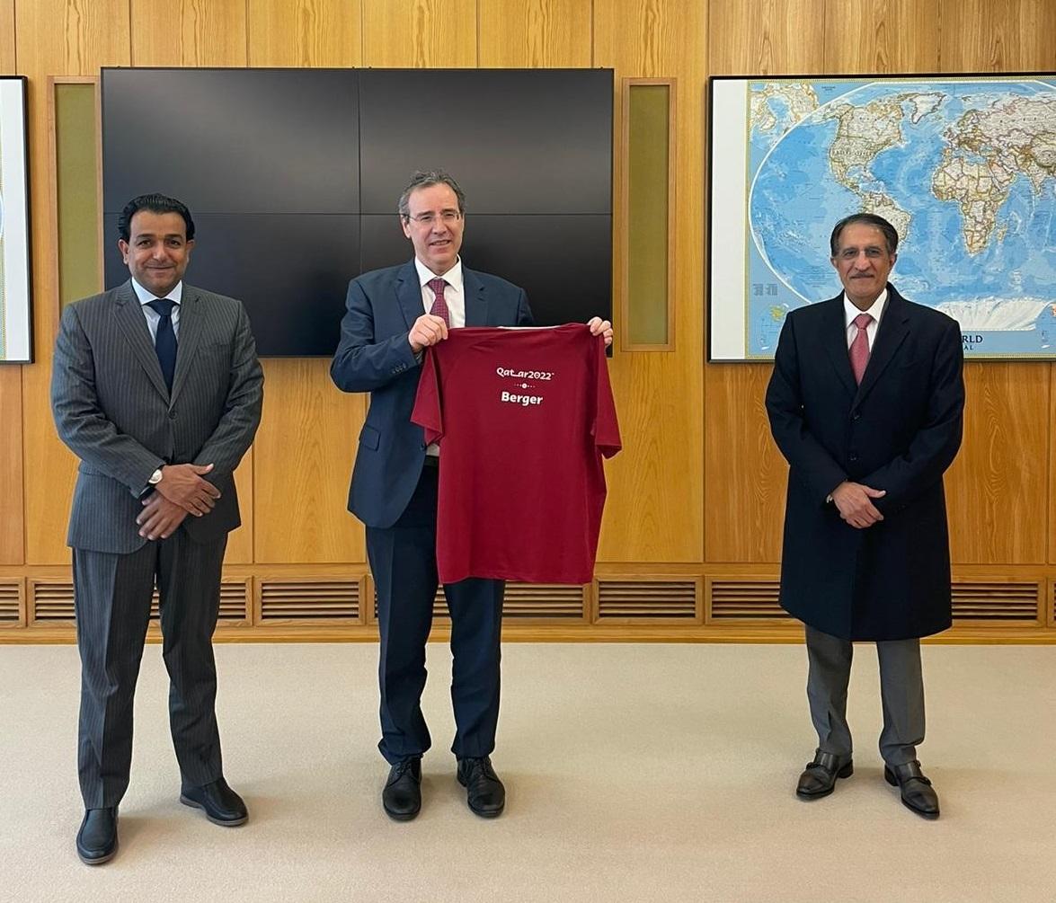 المبعوث الخاص لوزير الخارجية يجتمع مع وكيل وزارة الخارجية الألمانية