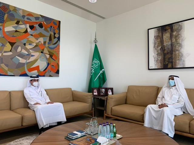 Undersecretary of Saudi Ministry of Foreign Affairs Meets Qatar's Acting Charge d'Affaires