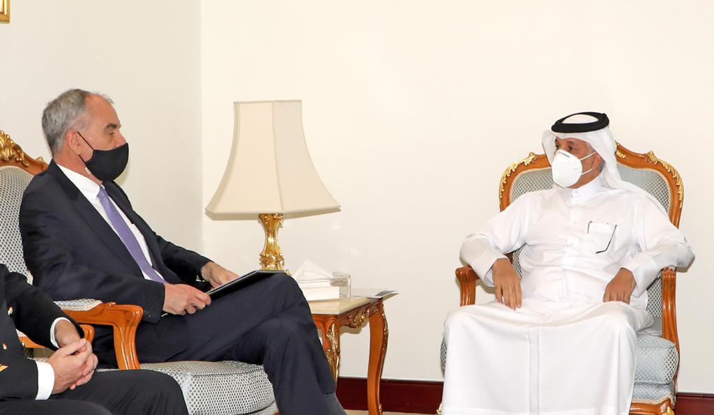 Minister of State for Foreign Affairs Meets Ambassador of Federal Republic of Germany