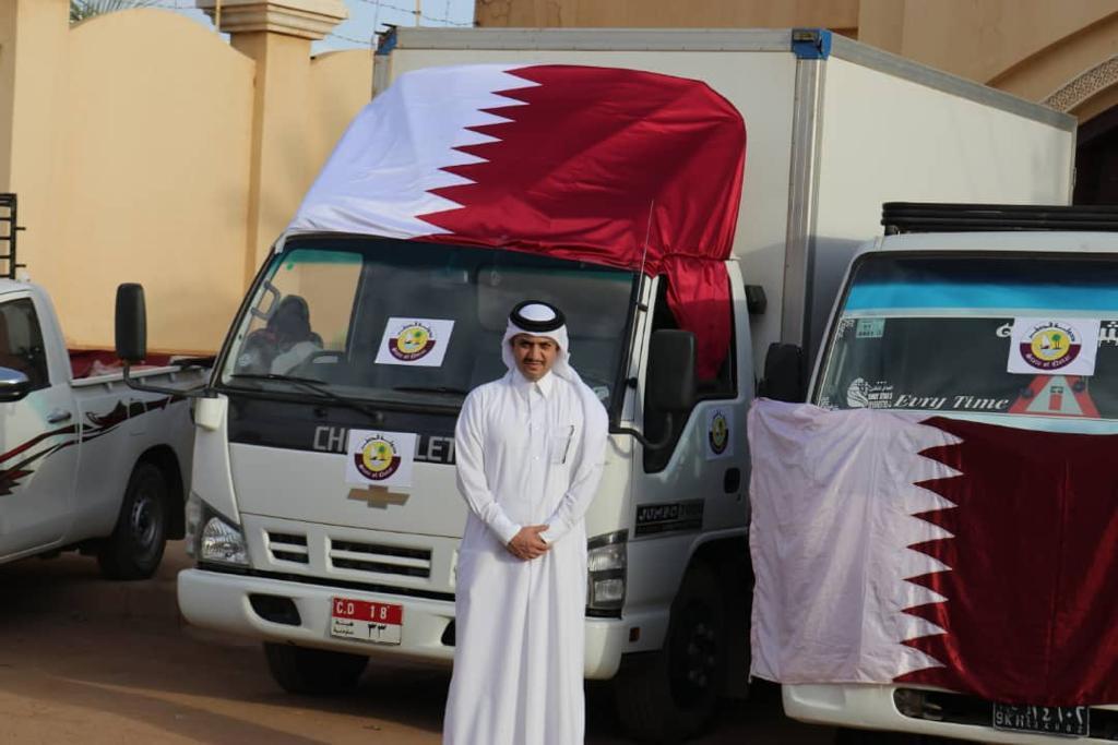 سفارة قطر لدى السودان تدشن مشروع إفطار صائم