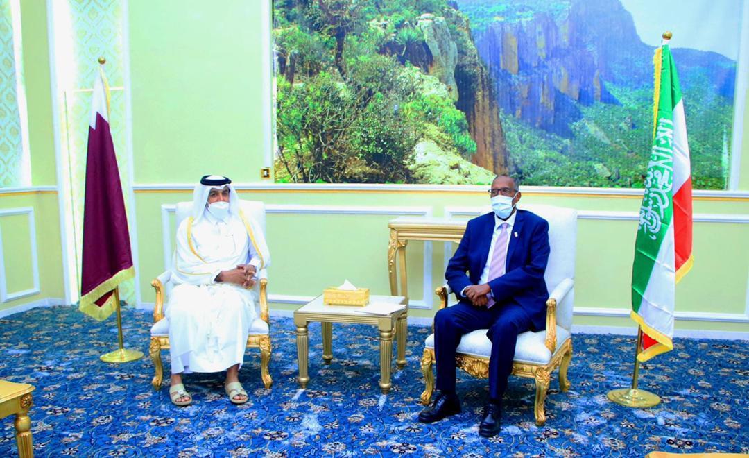 المبعوث الخاص لوزير الخارجية يزور صومالي لاند