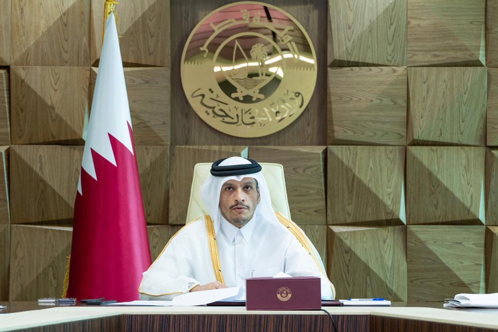 دولة قطر تؤكد على ضرورة وجود قرار عربي موحد بتحرك واسع في المحافل الدولية لنصرة الشعب الفلسطيني
