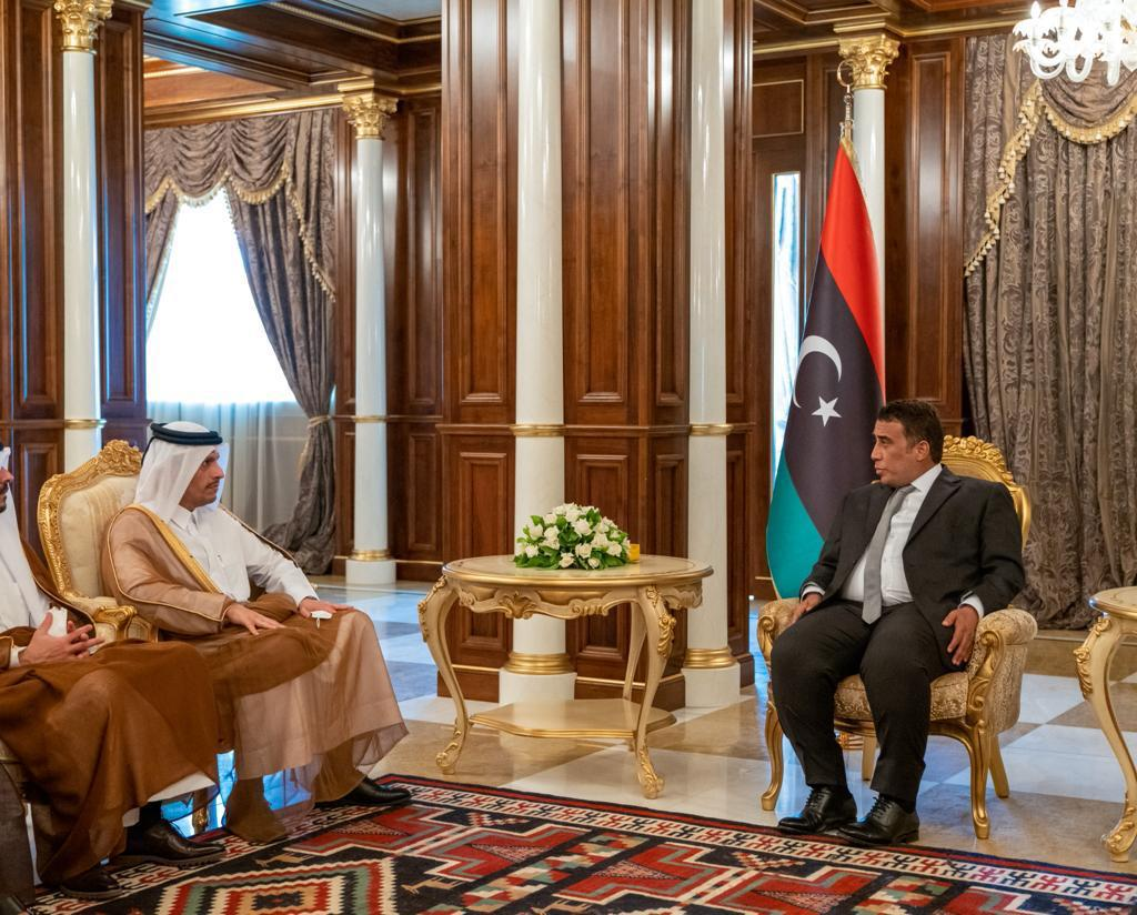 Deputy Prime Minister and Minister of Foreign Affairs Meets President of Libyan Presidential Council