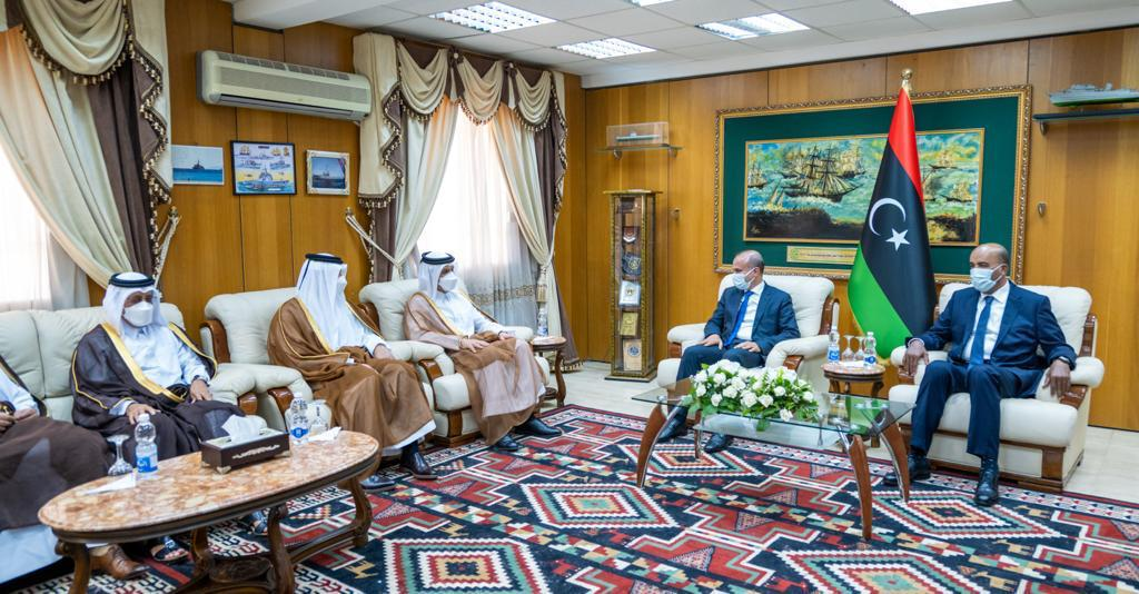Deputy Prime Minister and Minister of Foreign Affairs Meets Two Vice-Presidents of Libyan Presidential Council