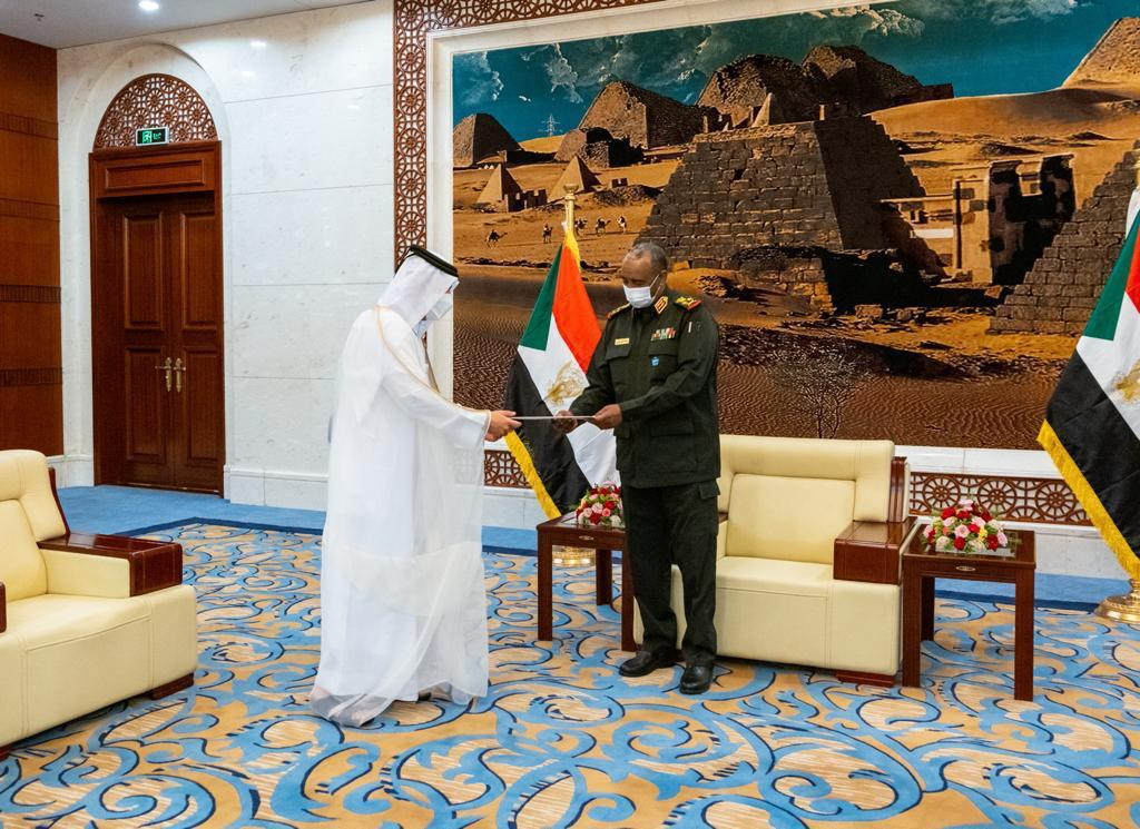 HH the Amir Sends Message to President of Transitional Sovereignty Council of Sudan