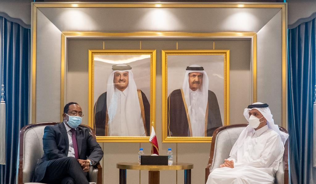 The Deputy Prime Minister and Minister of Foreign Affairs Meets Ethiopian State Minister for Foreign Affairs