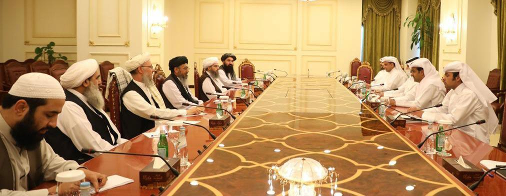 Special Envoy of the Foreign Minister Meets Chief of Taliban's Negotiation Team