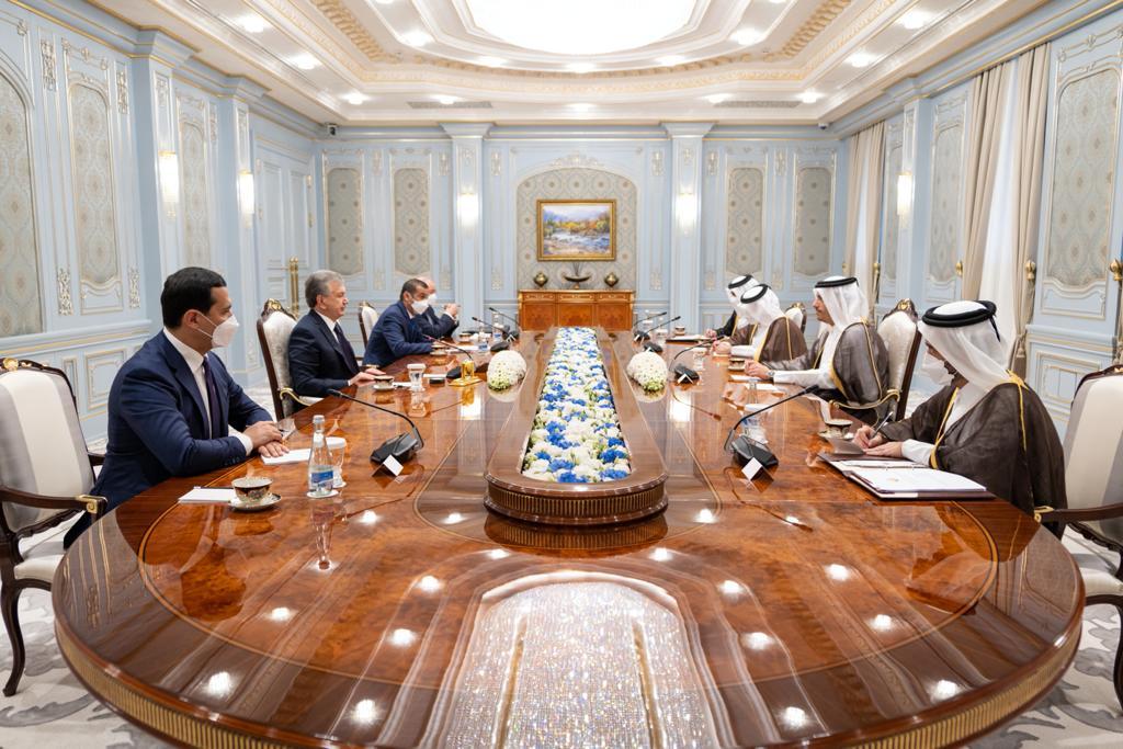 رئيس أوزبكستان يستقبل نائب رئيس مجلس الوزراء وزير الخارجية
